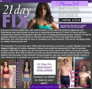 Simple Eating Simple Fitness Fast Results  ~21 Day Fix~